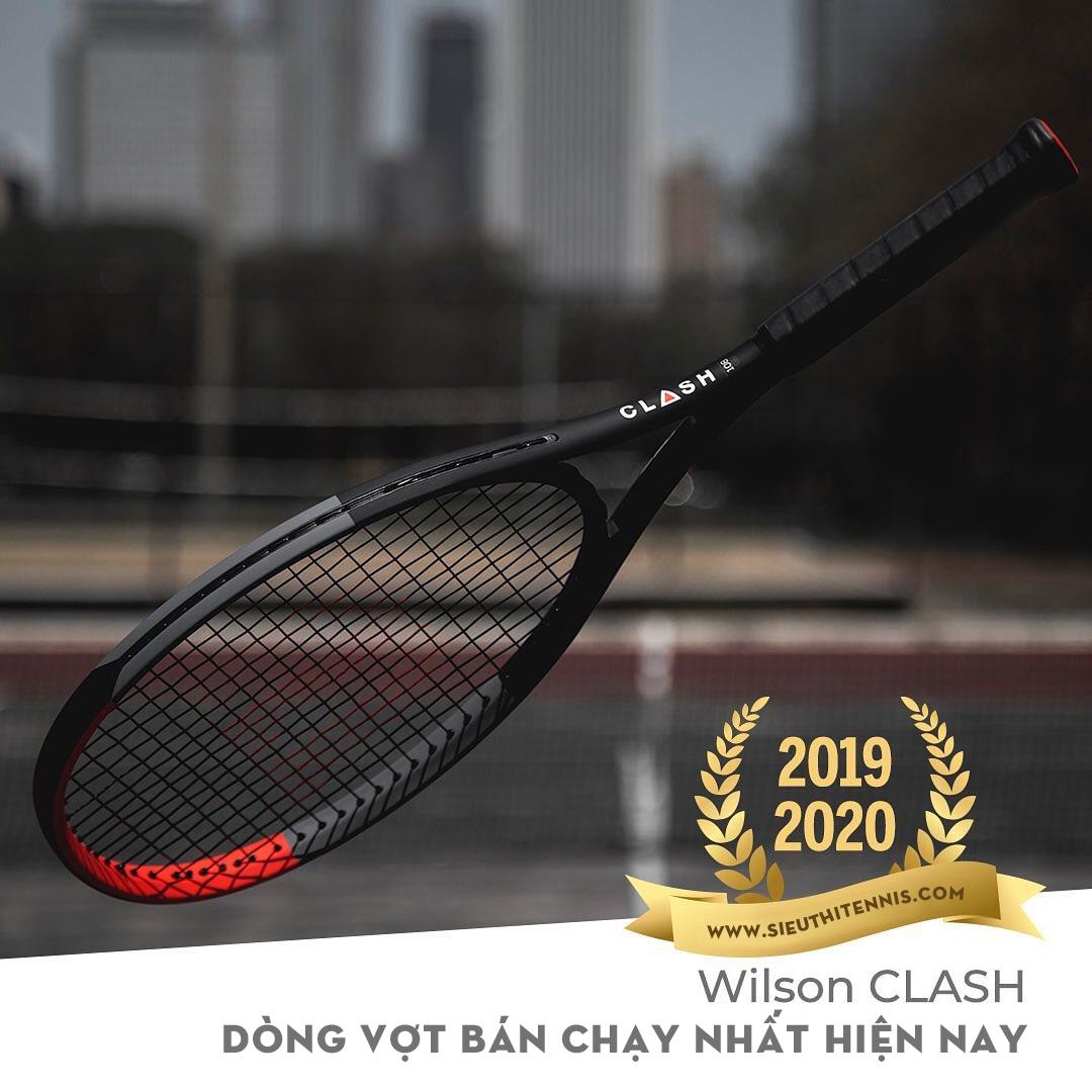 Wilson Clash - dòng vợt bán chạy nhất 2019 - 2020