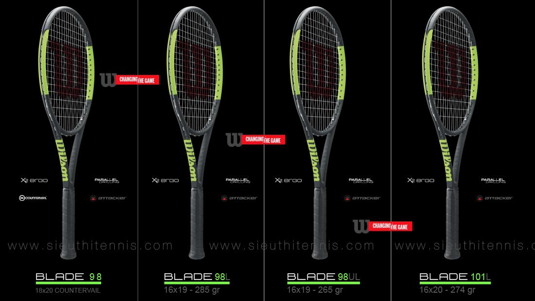 Vợt tennis Wilson Blade 2016-2017
