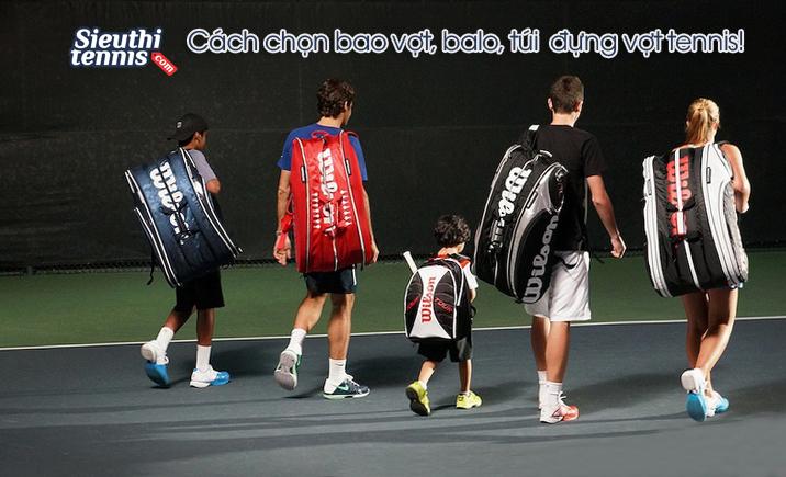cách chọn balo tennis