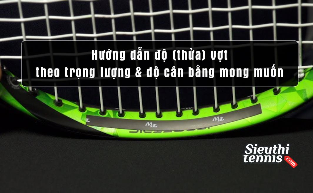 Hướng dẫn độ vợt tăng trọng lượng