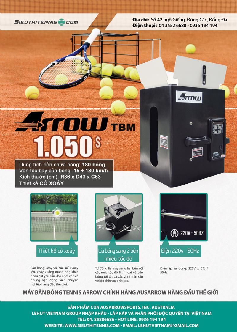 Máy bắn bóng tennis Arrow TBM