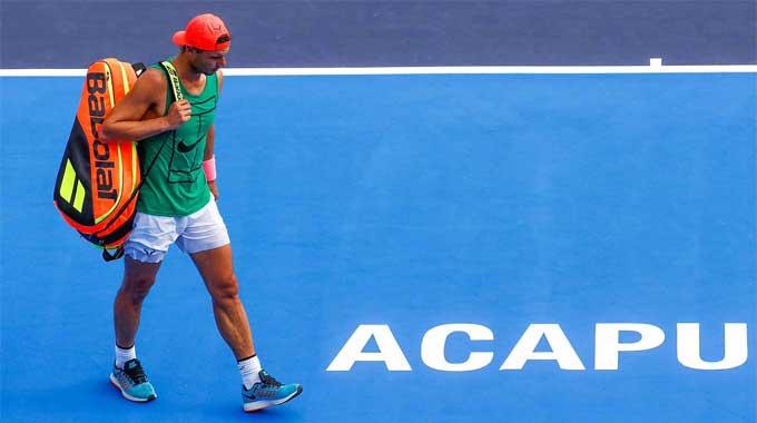 Nadal rút lui vì chấn thương