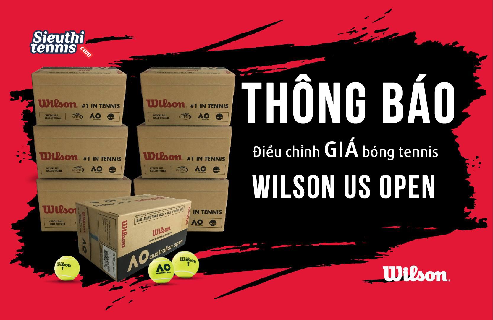 Giá bóng tennis Wilson