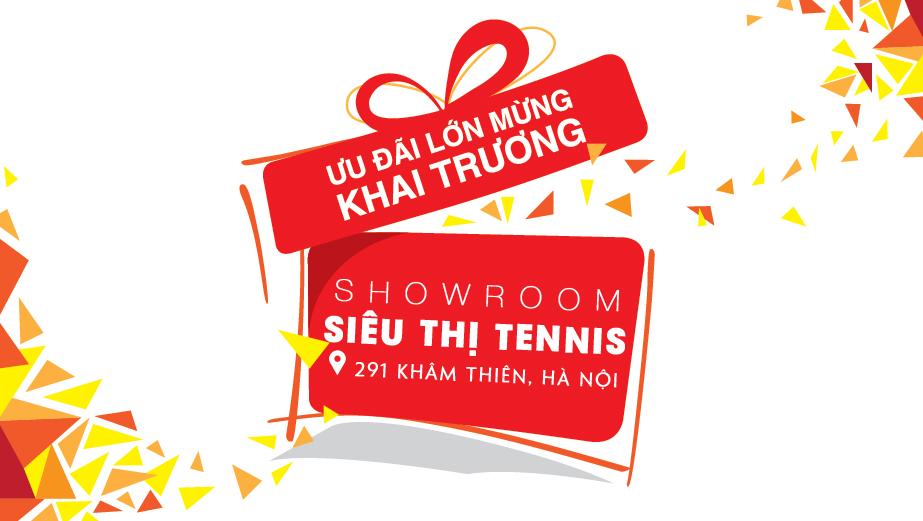 Khai trương showroom Siêu Thị Tennis 291 Khâm Thiên, Hà Nội