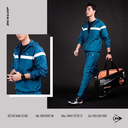 Quần áo gió Dunlop