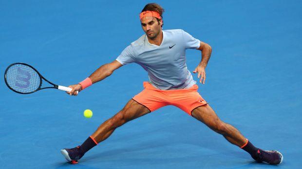 Roger Federer nhanh như cắt, khỏe vô địch