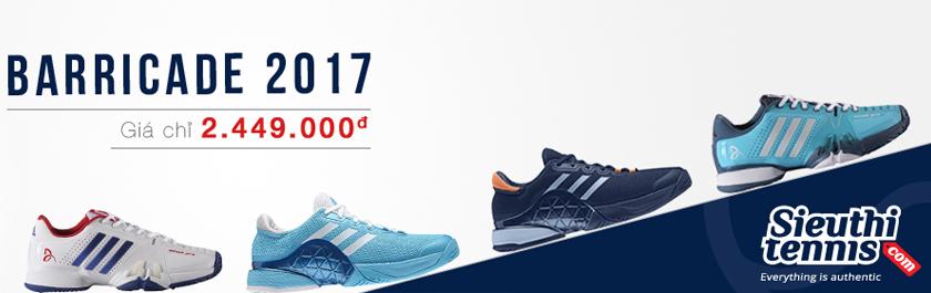 Giày tennis Adidas Barricade 2017