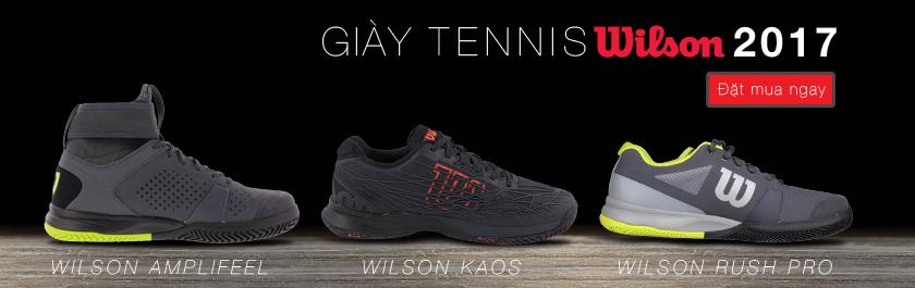 Giày tennis Wilson 2017