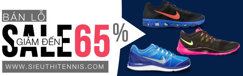 Giảm tới 65% giá niêm yết giày Nike chính hãng