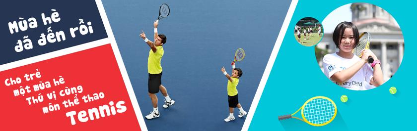 Vợt tennis cho trẻ em