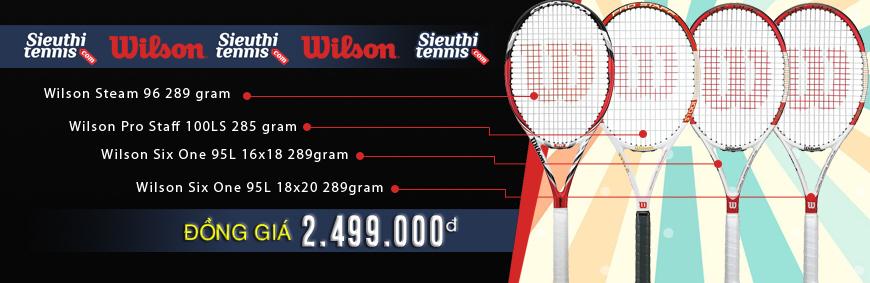 Vợt tennis Wilson đồng giá 2499k